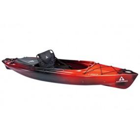 Kajak Ascend D10 Sit-In Kayak - Red/Black GRATIS PADDEL!