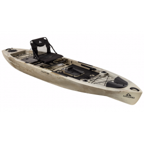 Kajak Ascend FS128T Sit-on-Top Angler Kayak - Desert Storm