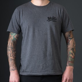Mojoboats Exclusive Dealer T-shirt | gråmelerad