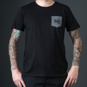 Mojoboats Pocket T-shirt   svart