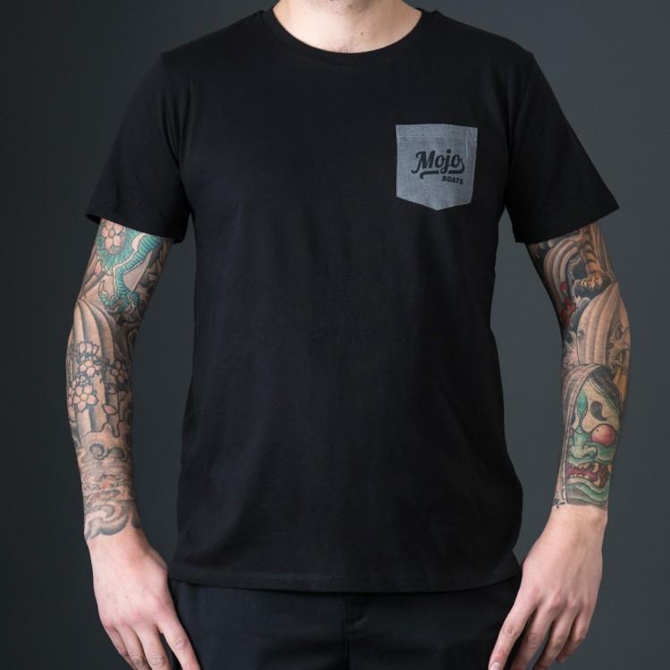 Mojoboats Pocket T-shirt | svart