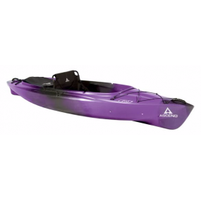 Kajak Ascend FS128T Sit-on-Top Angler Kayak - White/Black