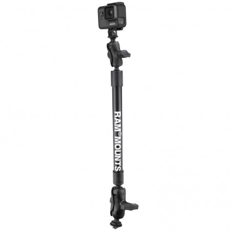 "RAM 22"" Tough Pole Camera Mount med Track Ball"