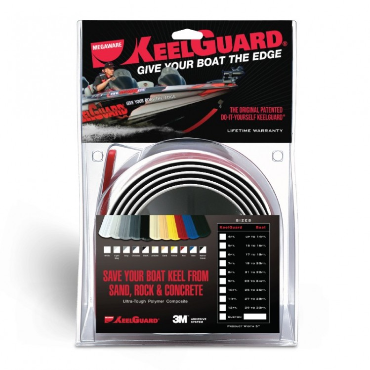 Megaware KeelGuard 7 fot - Svart