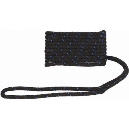 Förtöjningstamp 10mm 4,5m svart Attwood