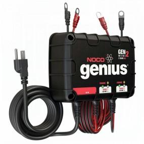 Noco Genius 2-banksladdare 8a 110V