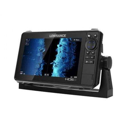Lowrance HDS-9 LIVE med AI 3in1-givare