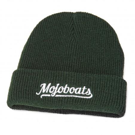Mojoboats Heritage beanie mörkgrön