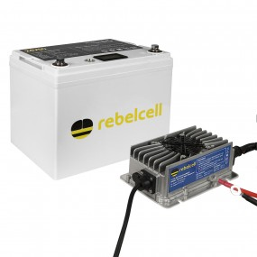 Rebelcell 24V50 Li-Ion inkl. laddare