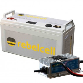 Rebelcell 24V100 Li-Ion inkl. laddare