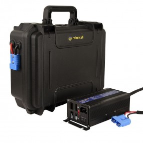 Rebelcell Outdoorbox 12V70 inkl. laddare