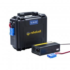 Rebelcell Outdoorbox 12V50 AV inkl. laddare