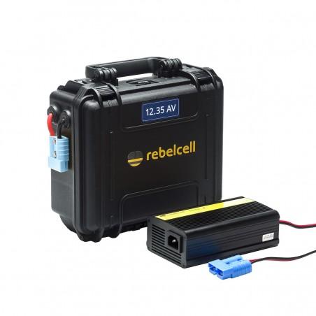 Rebelcell Outdoorbox 12V35 AV inkl. laddare