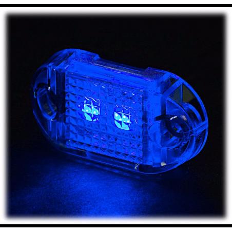 Bass Pro Shops High-Output Mini LED 4-Pack blå