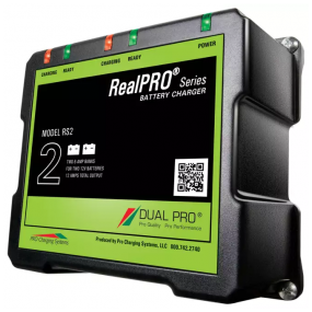 Dual Pro RealPRO series, 2-banks batteriladdare