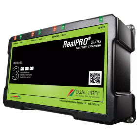 Dual Pro RealPRO series, 3-banks batteriladdare