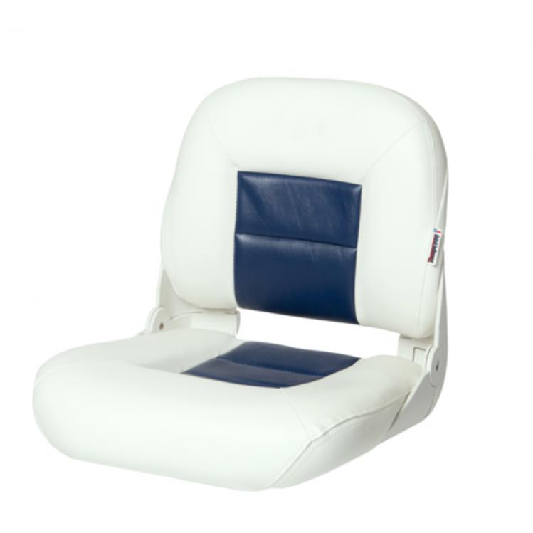 Low Back NaviStyle™ White / Blå / Grå