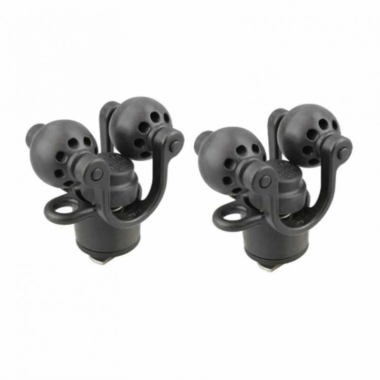 RAM Roller-Ball Paddle & Accessory Holder (2-pack)