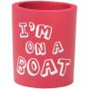 Can Cooler - I'm on a Boat - röd/vit
