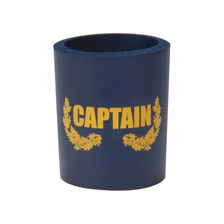 Can Cooler - Captain marinblå/guld