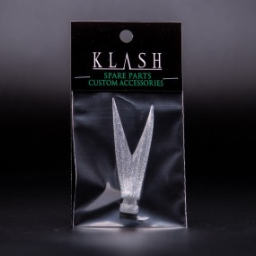 DRT Tiny Klash V-tail | Clear Silver