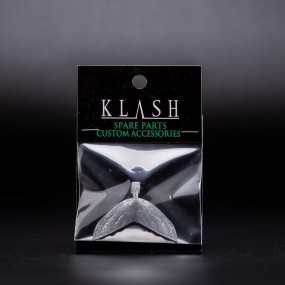 DRT Tiny Klash Varial tail | Clear Silver