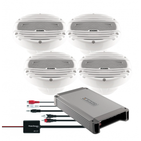 Hertz HCP4M & Hertz HMX65 med Bluetooth-adapter