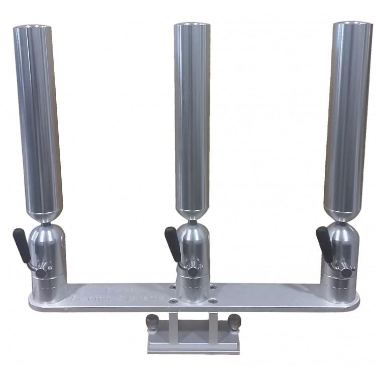 Cisco tubspöhållare Trippel - Silver