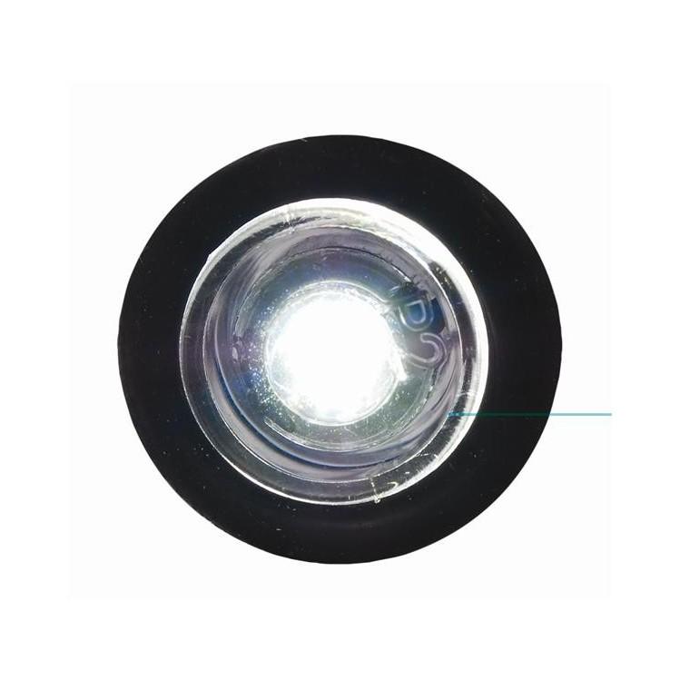 LED-Mini Button style lampa. Blått Ljus.
