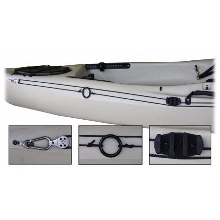 Ascend Kajak Ankringssystem - Anchor Trolley Kit