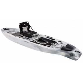 Kajak Ascend 128T Sit-on-Top Angler Kayak - White/Black