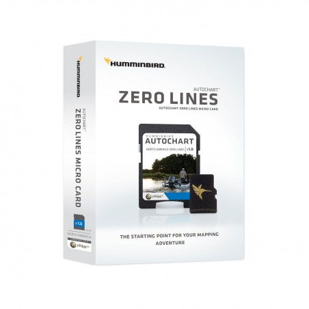 Humminbird AutoChart Zeroline kort